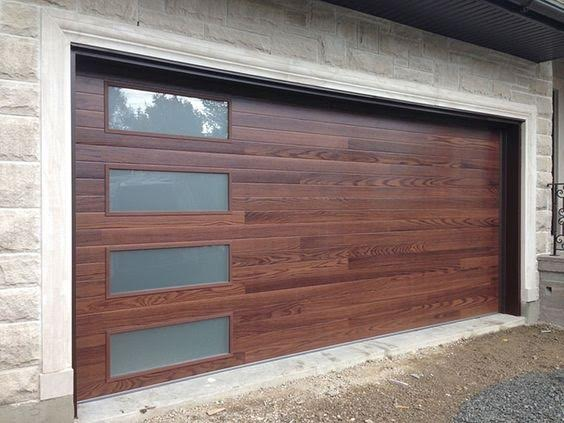 Faux Wood Doors Ridgeline Overhead Garage Door In Austin Tx