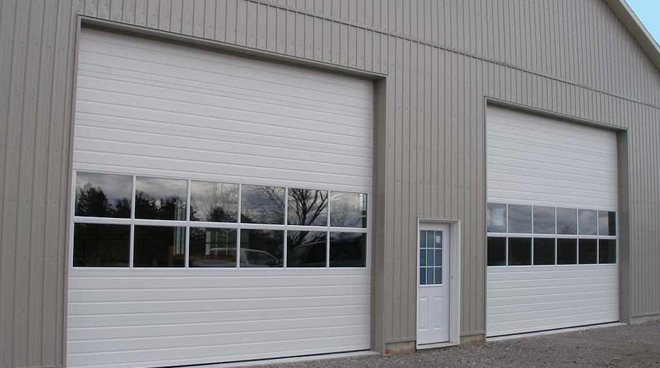 Steel Sectional Overhead Doors